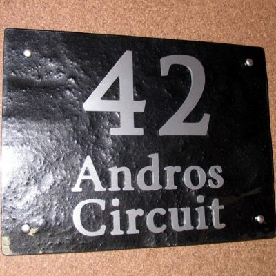 Andros Circuit 400mm x 300mm Byington font A