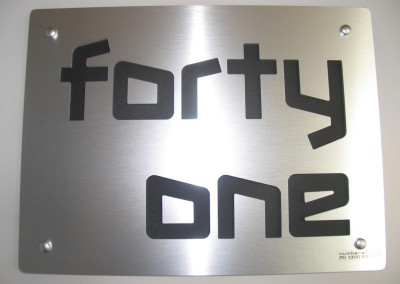 forty one 400mm x 300mm cosmos font