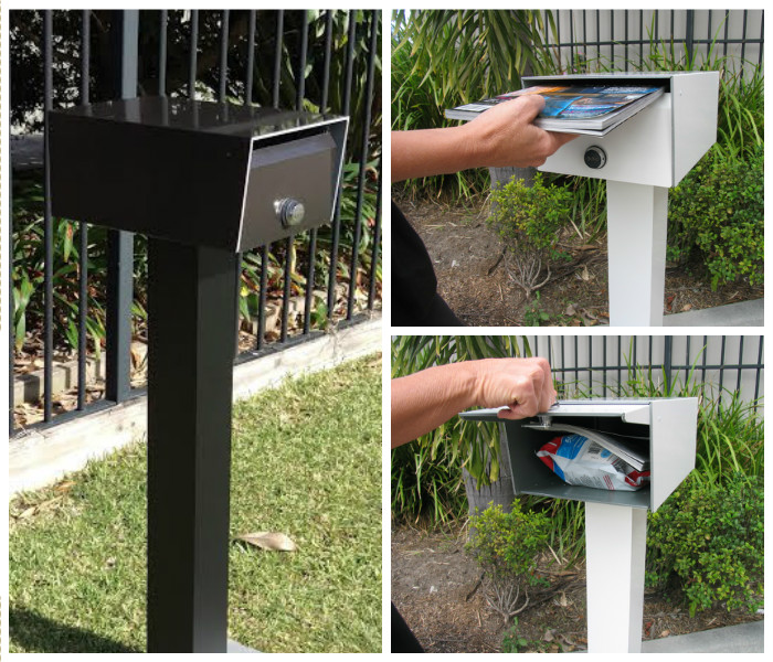 Bluff Stand Alone Letterbox - Parcelbox