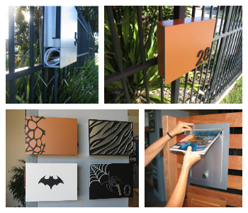 Fence Mount Letterboxes