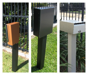 Stand Alone Letterbox and Parcel Boxes