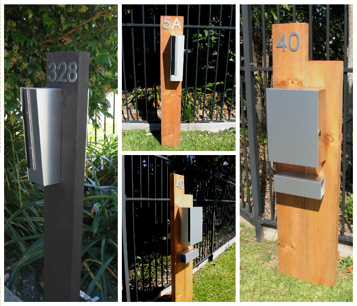 Timber DIY Letterboxes