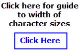 guide-character-sizes