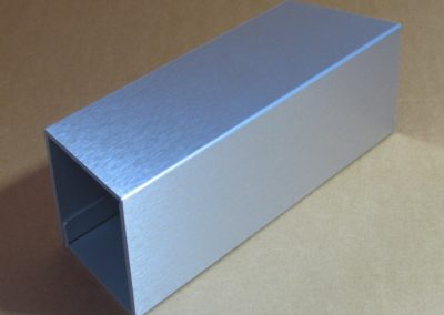 Brushed Aluminium Junk Mail