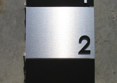 Vertical Mounted Landscape Mountain Letterboxes