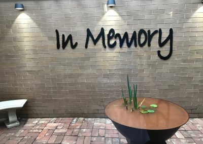 In Memory Memory Garden Hunter Health NSW